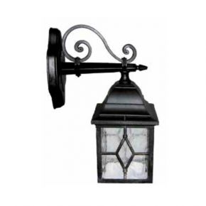 Heronia LED Πλαστική Απλίκα Τοίχου 15W E27 Φανάρι LP-710AK IP23
