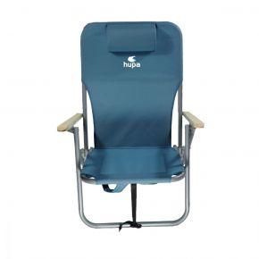 HUPA Ρυθμιζόμενη Καρέκλα Παραλίας 4 Θέσεων Με Μαξιλάρι