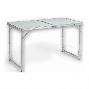 HUPA Τραπέζι Βαλιτσάκι ALU 2 ΘΕΣΕΩΝ ΥΨΟΥΣ (120x60xh55/70)cm