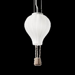 Ideal Lux Παιδικό Φωτιστικό Ροζέτα / Αερόστατο Από Γυαλί E27 Φ30 Dream Big