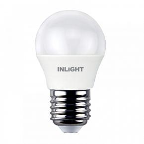 InLight E27 LED G45 5,5watt 4000K Φυσικό Λευκό (7.27.05.12.2)
