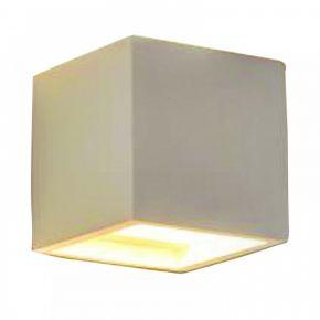 InLight Επιτοίχιο φωτιστικό λευκό από γύψο (43414)