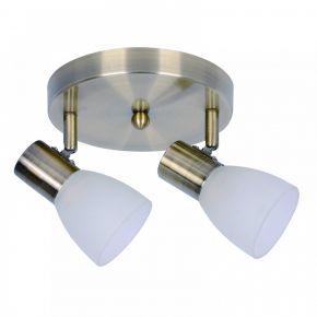 InLight Επιτοίχιο σποτ από μέταλλο σε οξυντέ απόχρωση (9064-2Φ-Οξυντέ)