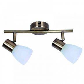 InLight Επιτοίχιο σποτ από μέταλλο σε οξυντέ απόχρωση (9065-2Φ-Οξυντέ)
