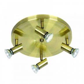 InLight Επιτοίχιο σποτ από μέταλλο σε οξυντέ απόχρωση (9075-4Φ-Οξυντέ)