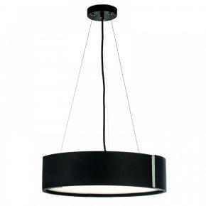 InLight Κρεμαστό φωτιστικό από αλουμίνιο σε μαύρη απόχρωση και ακριλικό (6152-Α-Κρεμαστό-Μαύρο)