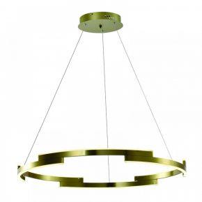 InLight Κρεμαστό φωτιστικό από αλουμίνιο σε χρυσαφί απόχρωση (6184-Β-Χρυσαφί)