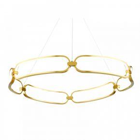 InLight Κρεμαστό φωτιστικό από χρυσαφί αλουμίνιο (6176-Α-Χρυσαφί)