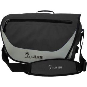 JR Gear Αδιάβροχη Τσάντα Ώμου Με Θήκη Για Laptop 14L