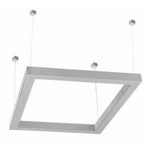 Kalfex Τετράγωνο Φωτιστικό LED Fos 64W 92cm