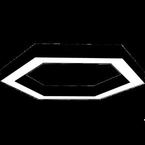 Kalfex Εξάγωνο Φωτιστικό LED Fos 69W 67cm