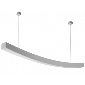Kalfex Γραμμικό Φωτιστικό LED Fos Τόξο T17000 84cm