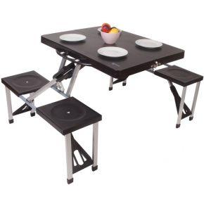 Kampa Τραπέζι Πτυσσόμενο Σετ Πικ Νικ Happy Table