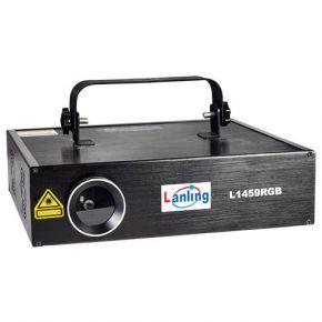 Spacelights Laser Τριών Χρωμάτων 4W RGB