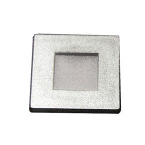 Dio LED DIP Απλίκα Χωνευτή 1W IP20 Τετράγωνο