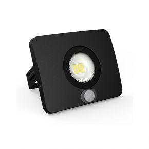 Lumax LED Προβολέας Με Αισθητήρα Κίνησης 20W IP65 Θερμό Λευκό