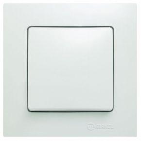 Lillium Διακόπτης Μεσαίος A/R Λευκός