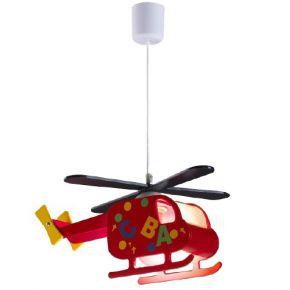 Lucas Κρεμαστό Παιδικό Φωτιστικό E27 Ελικοπτεράκι