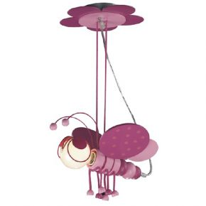 Lucas Κρεμαστό Παιδικό Φωτιστικό E27 Μελισσούλα