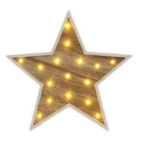 Lucas Ξύλινο Αστέρι