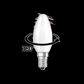 Lucas LED Λάμπα 4W C37 E14 Filament
