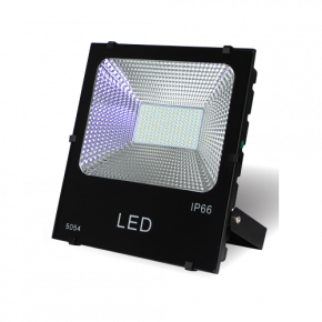 Lucas LED Προβολέας 100W SMD με Φωτοβολταϊκό IP66