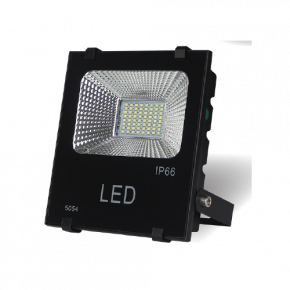 Lucas LED Προβολέας 30W SMD με Φωτοβολταϊκό IP66