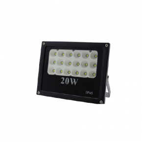 Lucas LED Προβολέας 20W SMD IP65 Black