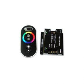 Lucas LED RGB Controller με Τηλεχειριστήριο Αφής RF