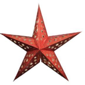 Lucas Χριστουγεννιάτικο Φωτιστικό Αστέρι Μικρό