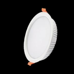 Lucas Στρογγυλό LED Panel 32W Downlight SMD