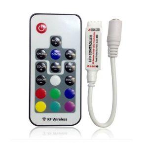 Lucas LED RGB Controller Ασύρματο με Τηλεχειριστήριο RF 12Α