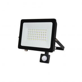Lucas LED Προβολέας SMD-DOB-LG 50W IP66 Μαύρο Αλουμίνιο