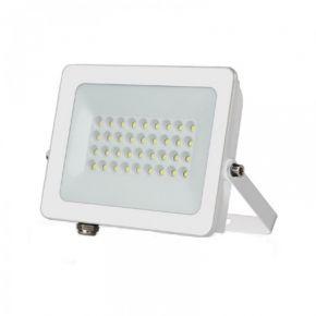 Lucas LED Προβολέας SMD-DOB LG 36pcs 30W IP66 Λευκό Αλουμίνιο