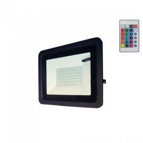 Lucas LED Προβολέας SMD LG 50pcs 50W IP66 Μαύρο Αλουμίνιο