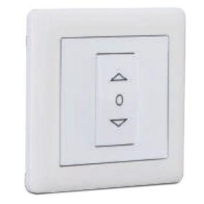 Makel British Standard Push-Button Διακόπτης Λευκός