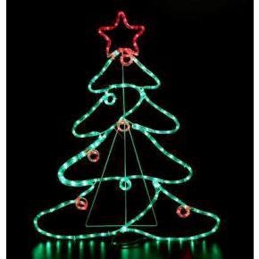 Eurolamp 144 LED Δέντρο Με Μπάλες Και Αστέρι  IP44