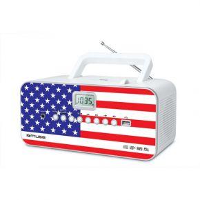 Muse Ψηφιακό Ραδιόφωνο CD-PLAYER M-28US Μπαταρίας και Ρεύματος