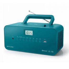 Muse Ραδιόφωνο CD-PLAYER M-30BTB Μπαταρίας και Ρεύματος Ψηφιακό