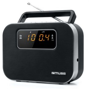 Muse Ραδιόφωνο M-081R Μπαταρίας και Ρεύματος Ψηφιακό