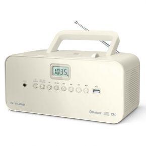 Muse Ραδιόφωνο CD-PLAYER M-30BTN Μπαταρίας και Ρεύματος Ψηφιακό
