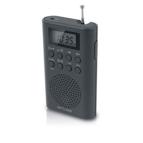 Muse Ραδιόφωνο M-03R Μπαταρίας και Ρεύματος Ψηφιακό