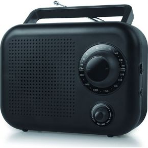Muse Ραδιόφωνο NEWONE R-210 Μπαταρίας και Ρεύματος Μαύρο Αναλογικό