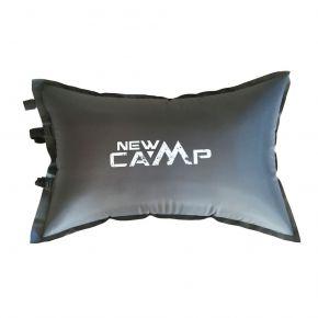 NEW CAMP Μαξιλάρι Αυτοφούσκωτο Camping Pillow Grey