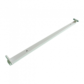 Universe Σκάφη Για 1 ή 2 LED Λάμπες Φθορισμού T8 18W