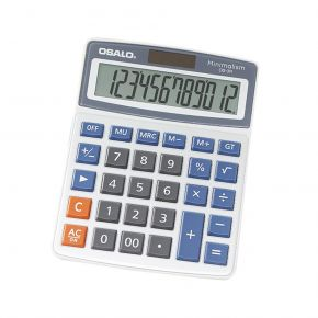 Osalo Αριθμομηχανή Γραφείου 12 ψηφίων OS-3M