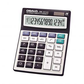 Osalo Αριθμομηχανή Γραφείου 14 Ψηφίων OS-9914C