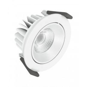 Osram LED Χωνευτό Spot Adjust 8W Λευκό Αλουμίνιο