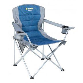 Oztrail Καρέκλα Πτυσσόμενη DELUXE ARM JUMBO Μπλέ