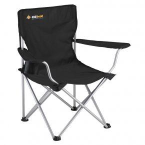 Oztrail Καρέκλα Πτυσσόμενη CLASSIC ARM Μαύρη